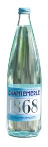 Eau Chantemerle bouteille en verre