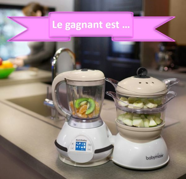 Gagnant jeu-concours Nutribaby Babymoov