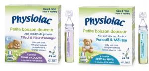Physiolac petite boisson pour bébé
