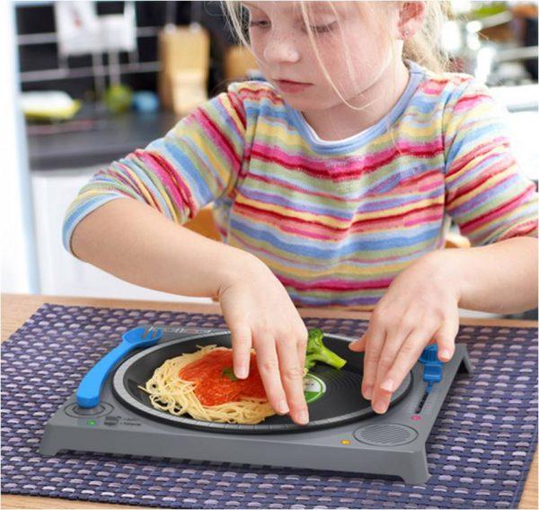 Assiette Table de mixage DJ pour enfant de Fred and Friends
