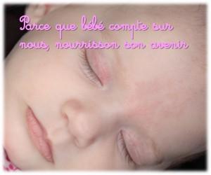 Nourrir l'avenir de nos bébés