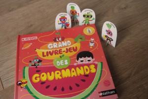 Le grand livre-jeu des gourmands éditions Nathan