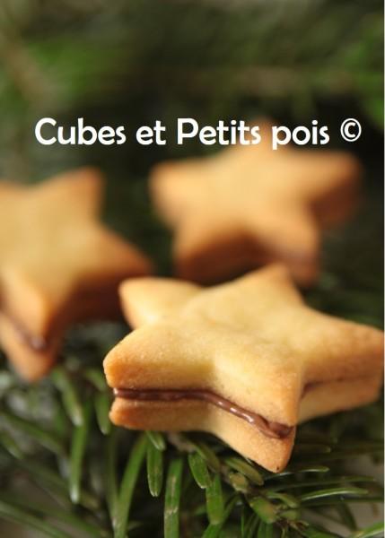 Biscuits étoiles façon BN pour Noël