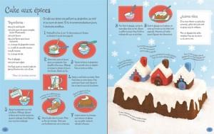 Coffret pâtisseries de Noël pour les enfant éditions Usborne