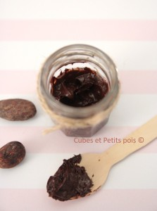 Recette bébé de pâte à tartiner chocolat