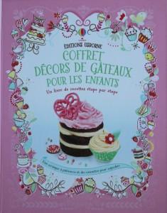 Coffret décors de gâteaux pour les enfants éditions Usborne