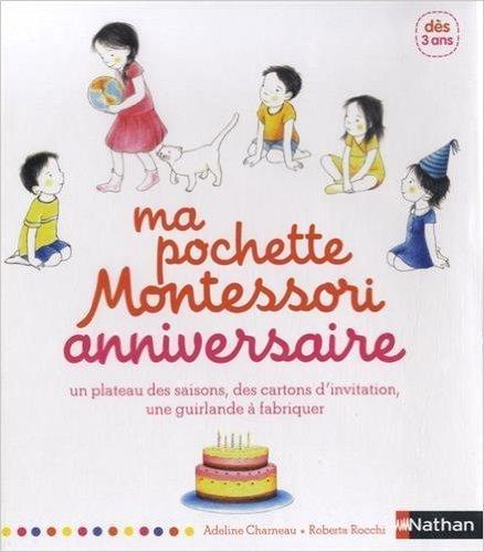 Ma pochette Montessori anniversaire éditions Nathan