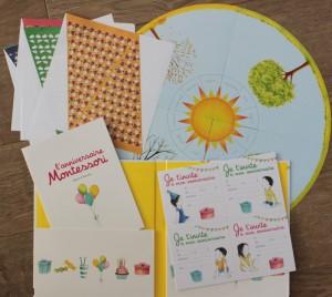 Pochette Montessori d'anniversaire aux éditions Nathan