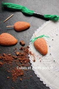 Carottes cookies recette pour bébé