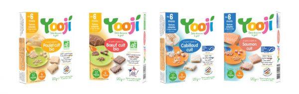 Yooji protéines bio surgelées pour bébé