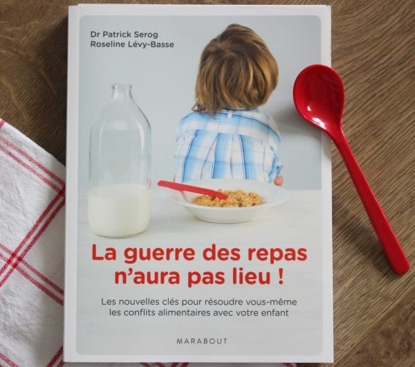 La guerre des repas n'aura pas lieu ! Livre aux éditions Marabout