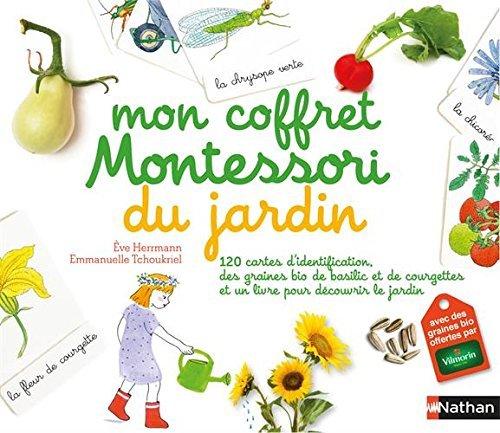 Mon coffret Montessori du jardin éditions Nathan