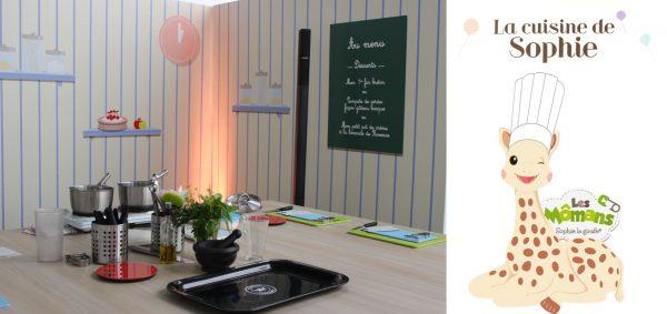 Ateliers Cuisine pour bébés chez Sophie la girafe