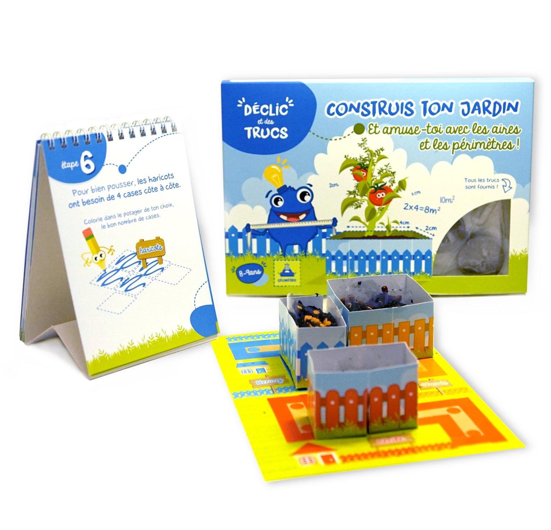 Declic et des trucs Le Kit Construis Ton Jardin avec les Aires et Périmètres !