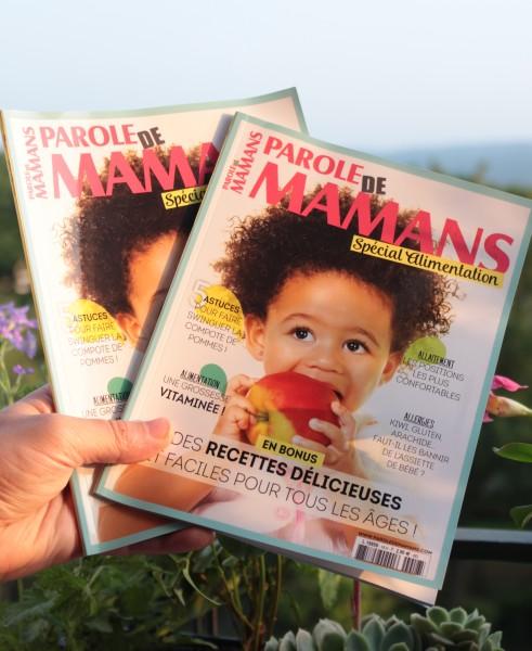 Parole de mamans Spécial Alimentation de Bébé : fière de l'avoir rédigé