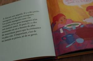 Histoires de manger Catherine DOLTO éditions Mine de Rien Gallimard