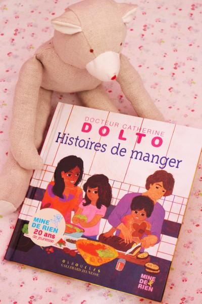Histoires de manger par Catherine Dolto chez Mine de Rien Gallimard Jeunesse