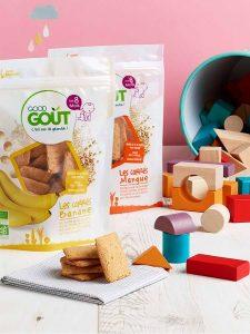 Carrés Good Goût Biscuits bébé