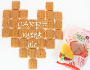 Carrés Good Gout Biscuits bébé