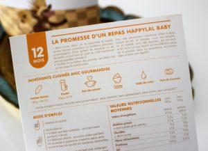 Happylal Baby petit pot bébé halal