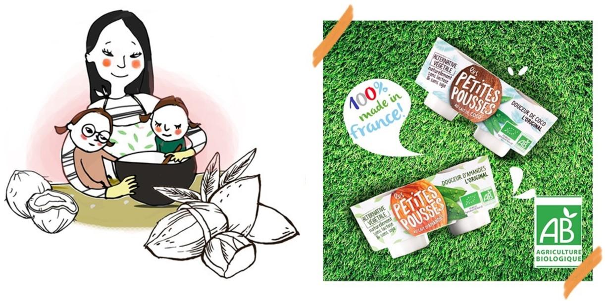 Dessert coco crème de marrons Recette bébé APL IPLV Cubes et Petits pois Les Petites Pousses
