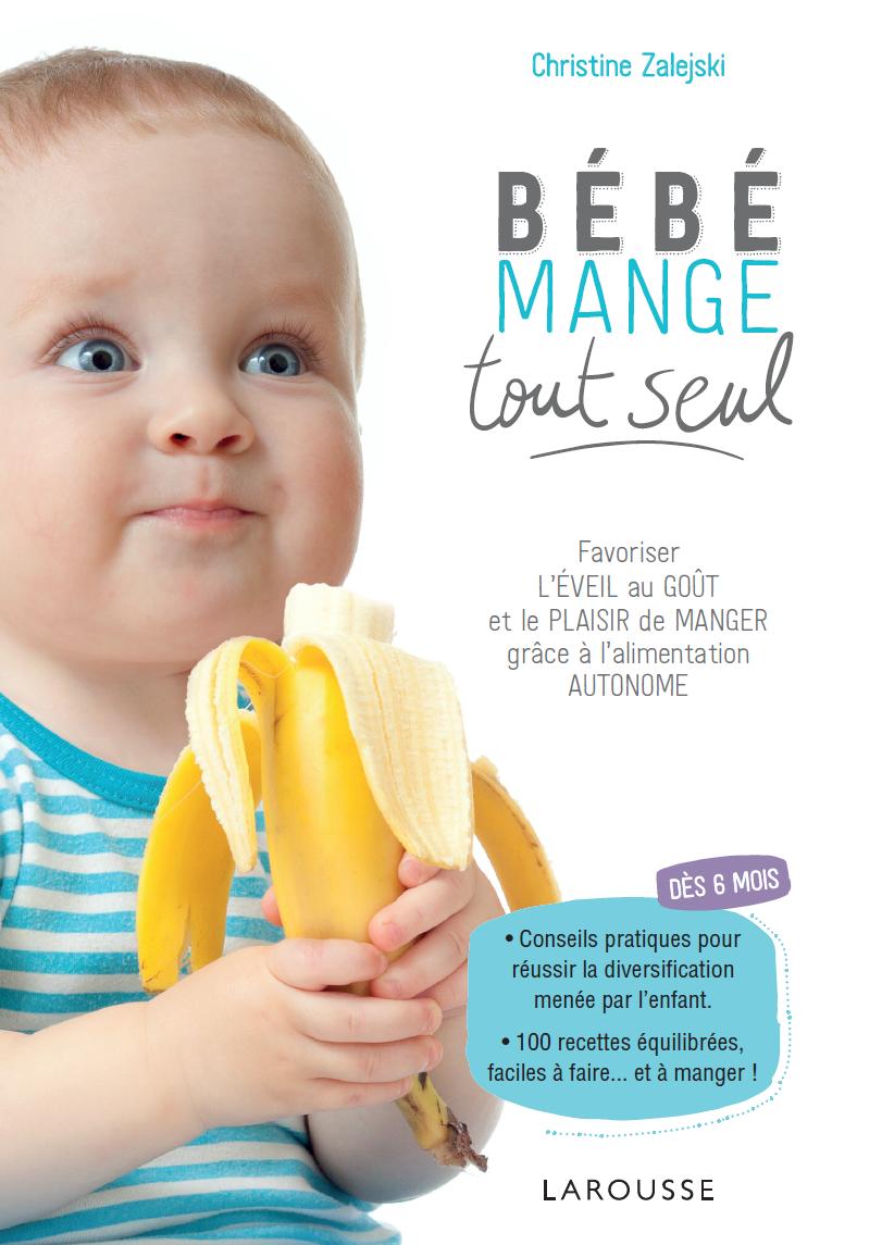 Bébé mange tout seul Diversification menée par l'enfant DME autonome BLW Cubes et Petits pois