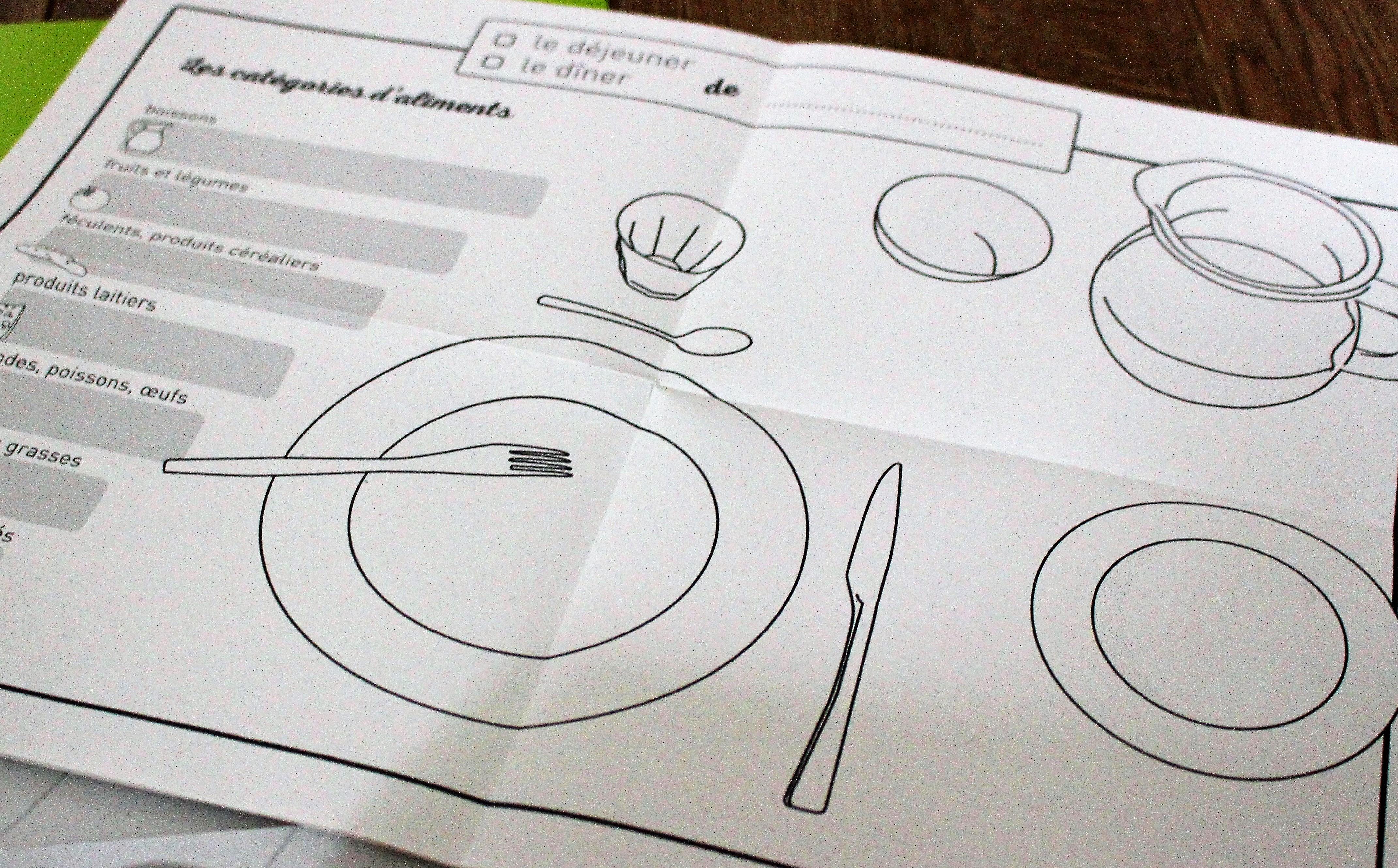 Jeu A Table éducation alimentaire ludique support pédagogique Avis de Cubes et Petits pois pour ateliers